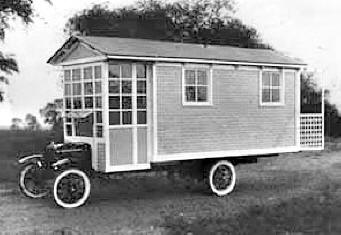 1920 ford housecar custom