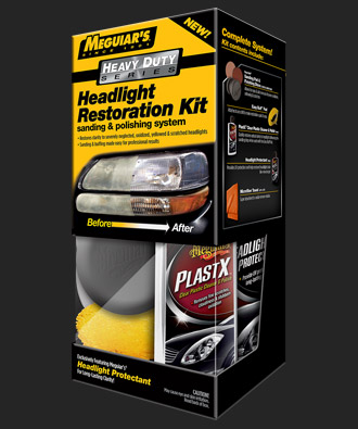 Headlight restoration kit lg
