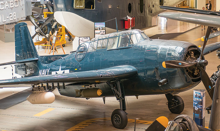 RV Cyrpress Trail blog TBM Avenger