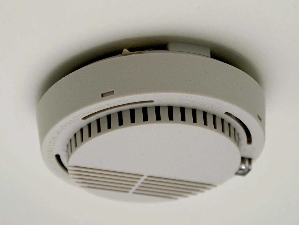 Smoke detector for RV