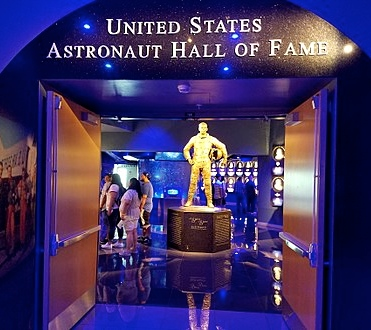 astronaut hall of fame Alan Shepard wikipedia