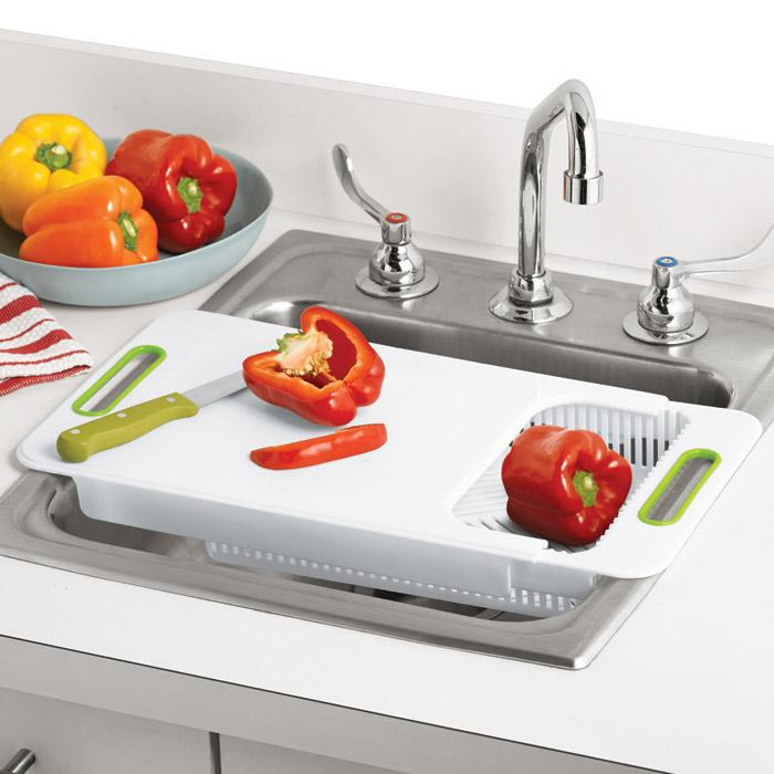 Merveilleux Nonslip Over The Sink Cutting Board Ideas